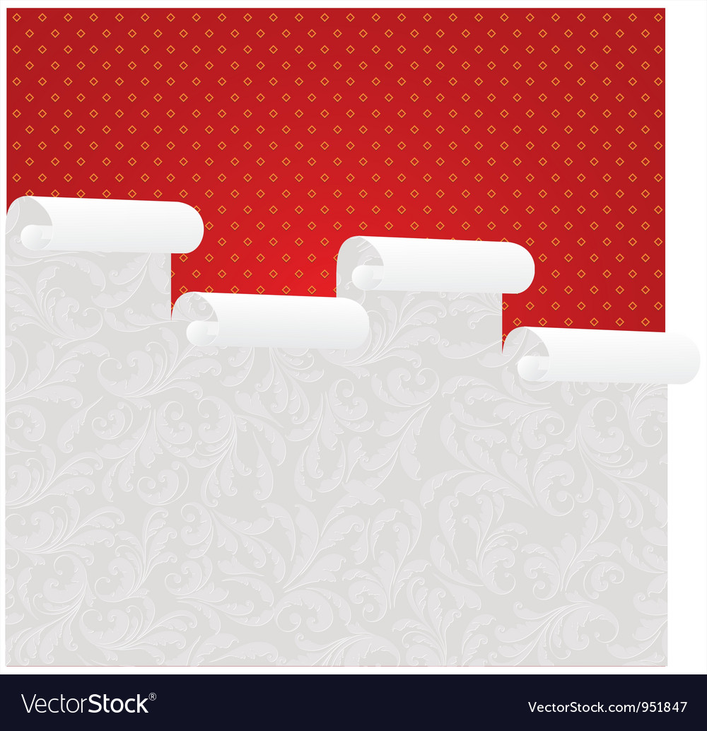 Wallpaper roll vector | Price: 1 Credit (USD $1)