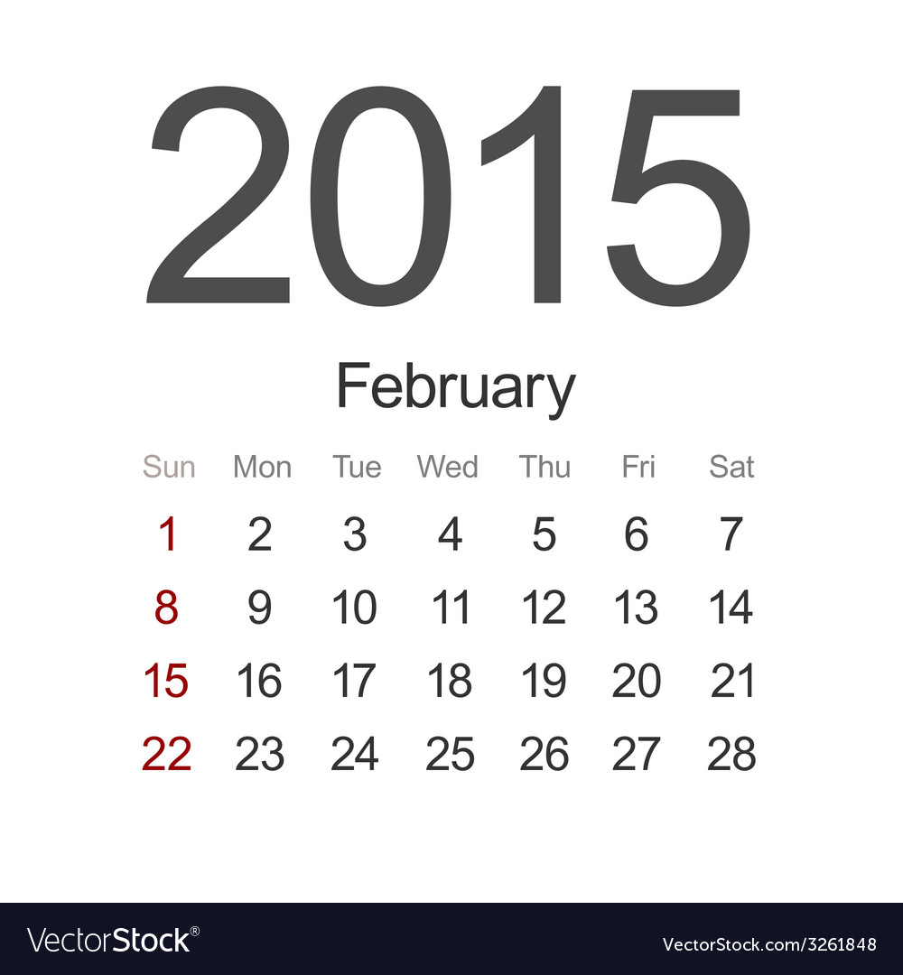 Modern 2015 calendar eps 10 vector | Price: 1 Credit (USD $1)