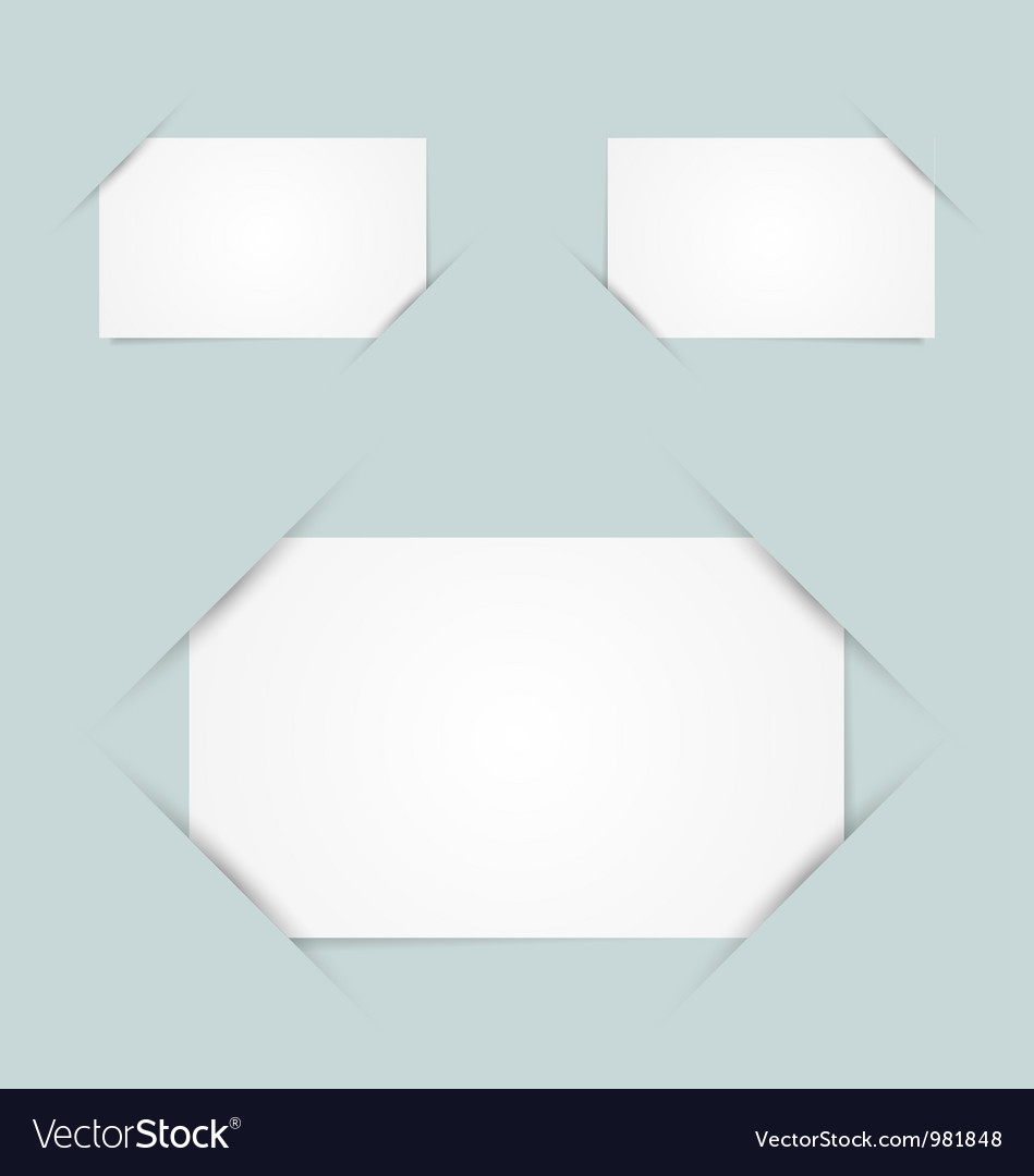 Paper holders vector | Price: 1 Credit (USD $1)