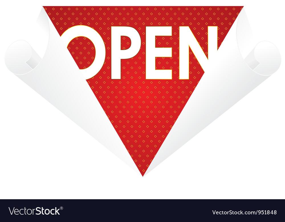 Wallpaper top open vector | Price: 1 Credit (USD $1)