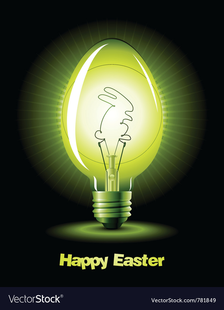 Easter bulb vector | Price: 1 Credit (USD $1)