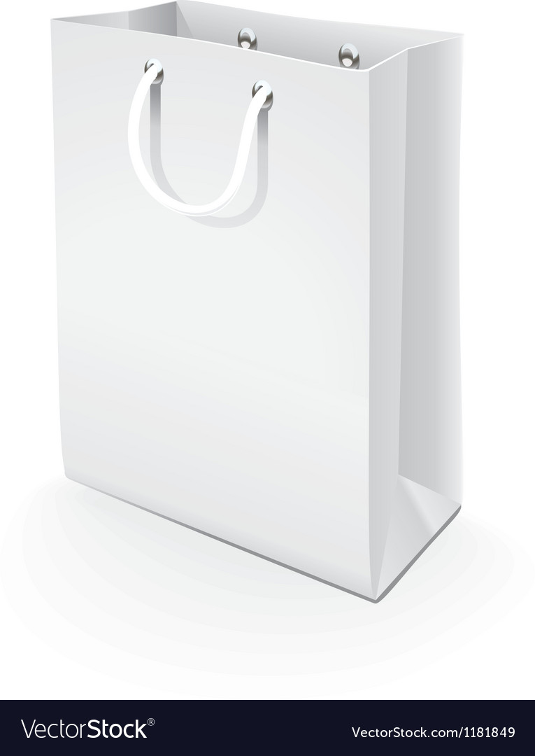 Paper bag vector | Price: 1 Credit (USD $1)