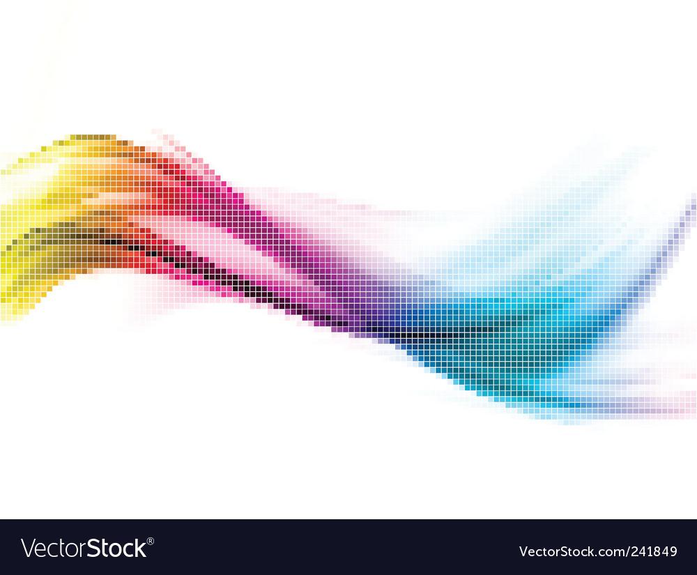 Rainbow mosaic vector | Price: 1 Credit (USD $1)