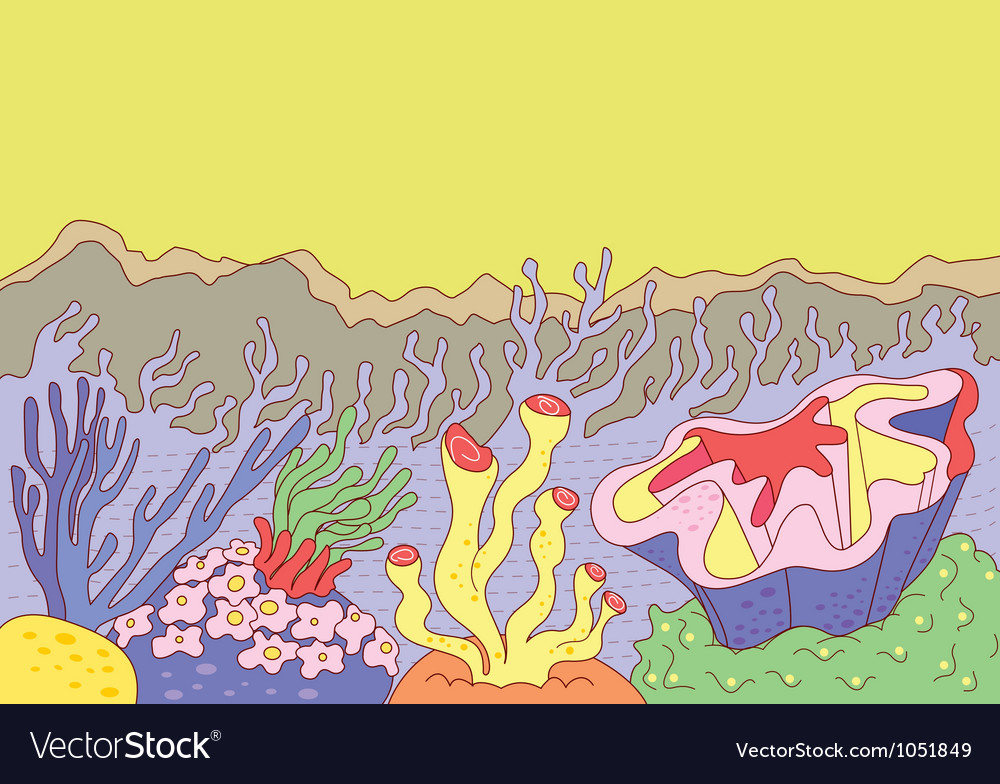 Sea weed vector | Price: 1 Credit (USD $1)