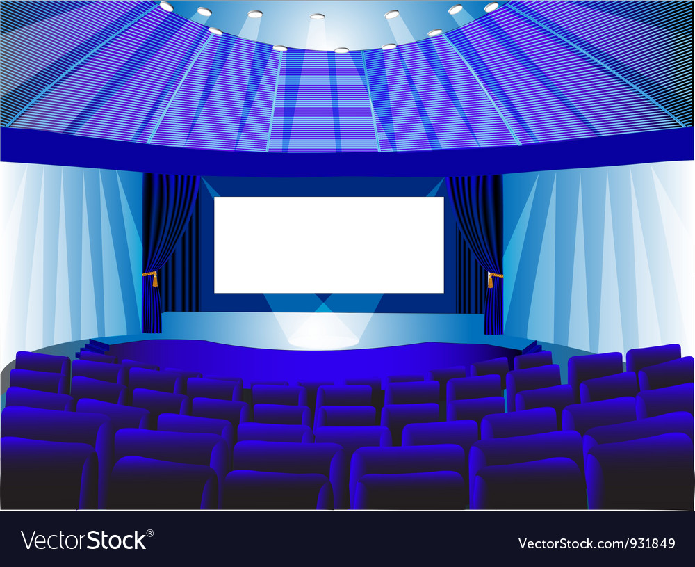 Theatre lounge vector | Price: 3 Credit (USD $3)