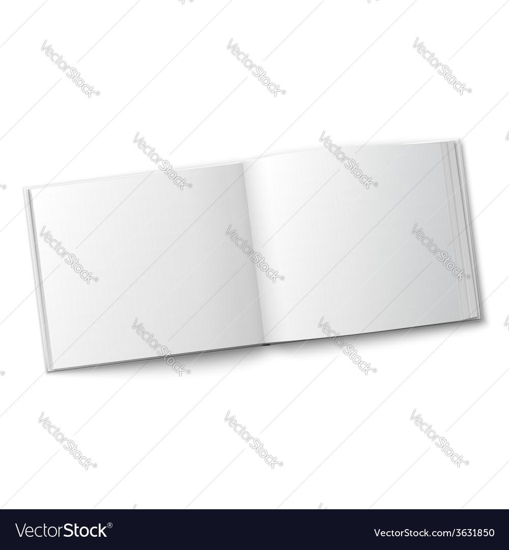 Blank spread album template vector | Price: 1 Credit (USD $1)