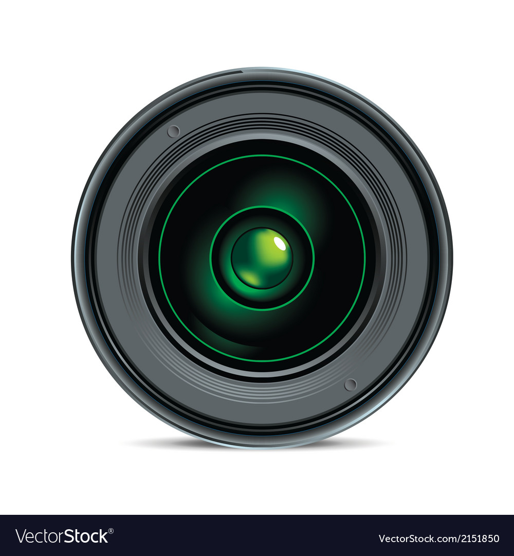 Photo and camera lens vector | Price: 1 Credit (USD $1)