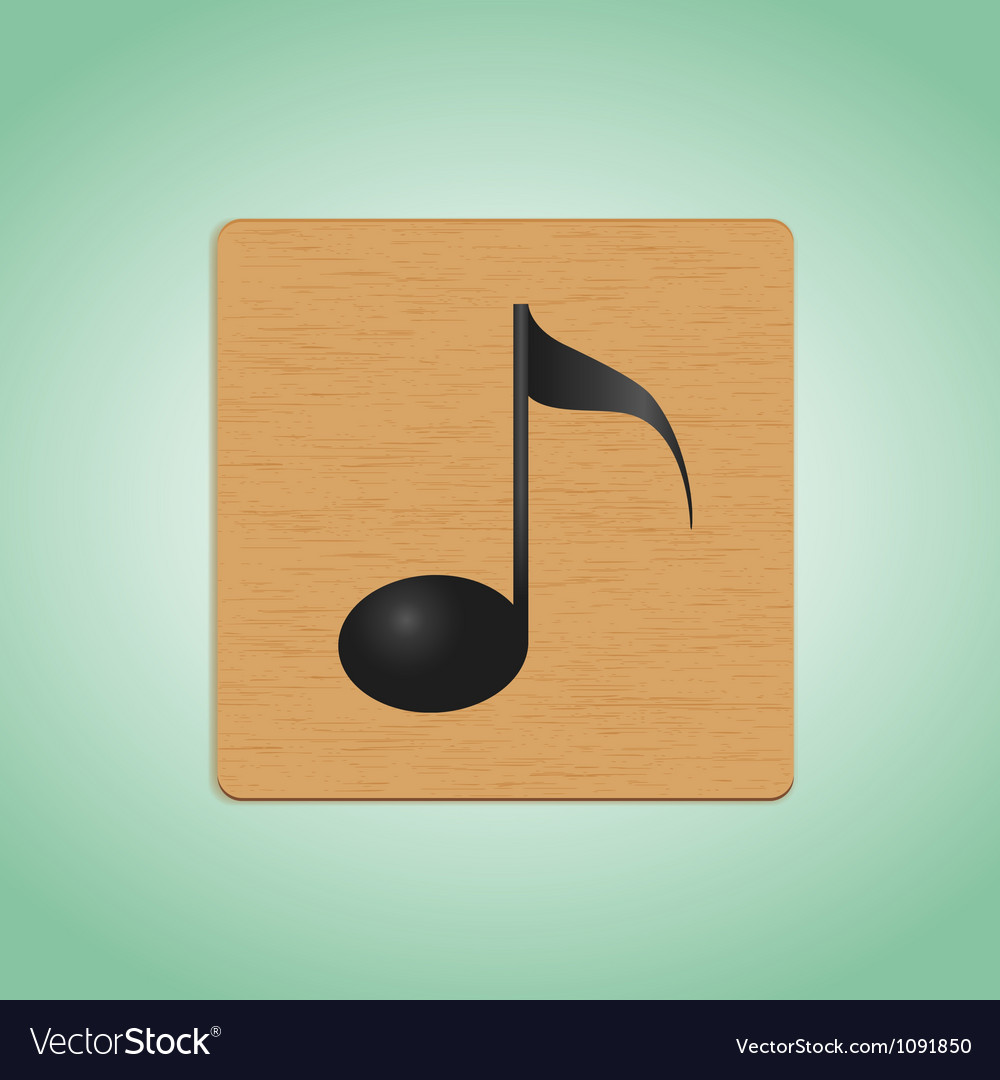 Wooden plate note vector | Price: 1 Credit (USD $1)