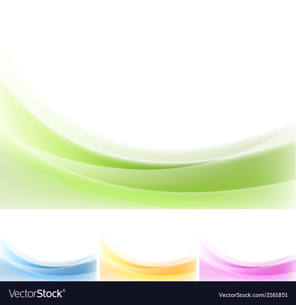 Abstract wavy backgrounds gradient mesh vector | Price: 1 Credit (USD $1)