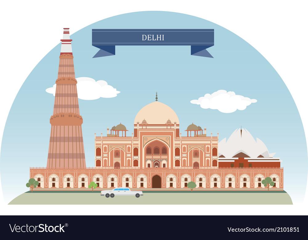Delhi vector | Price: 1 Credit (USD $1)