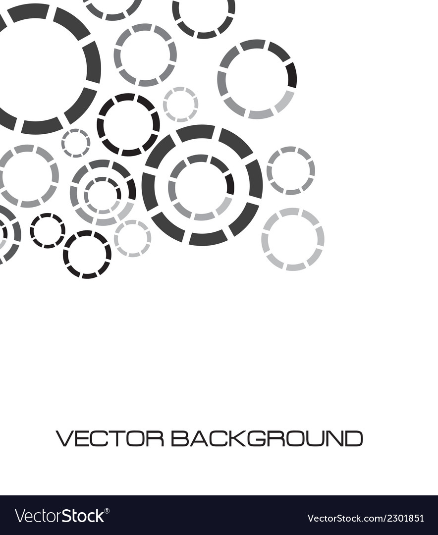 Discontinuous circles vector | Price: 1 Credit (USD $1)
