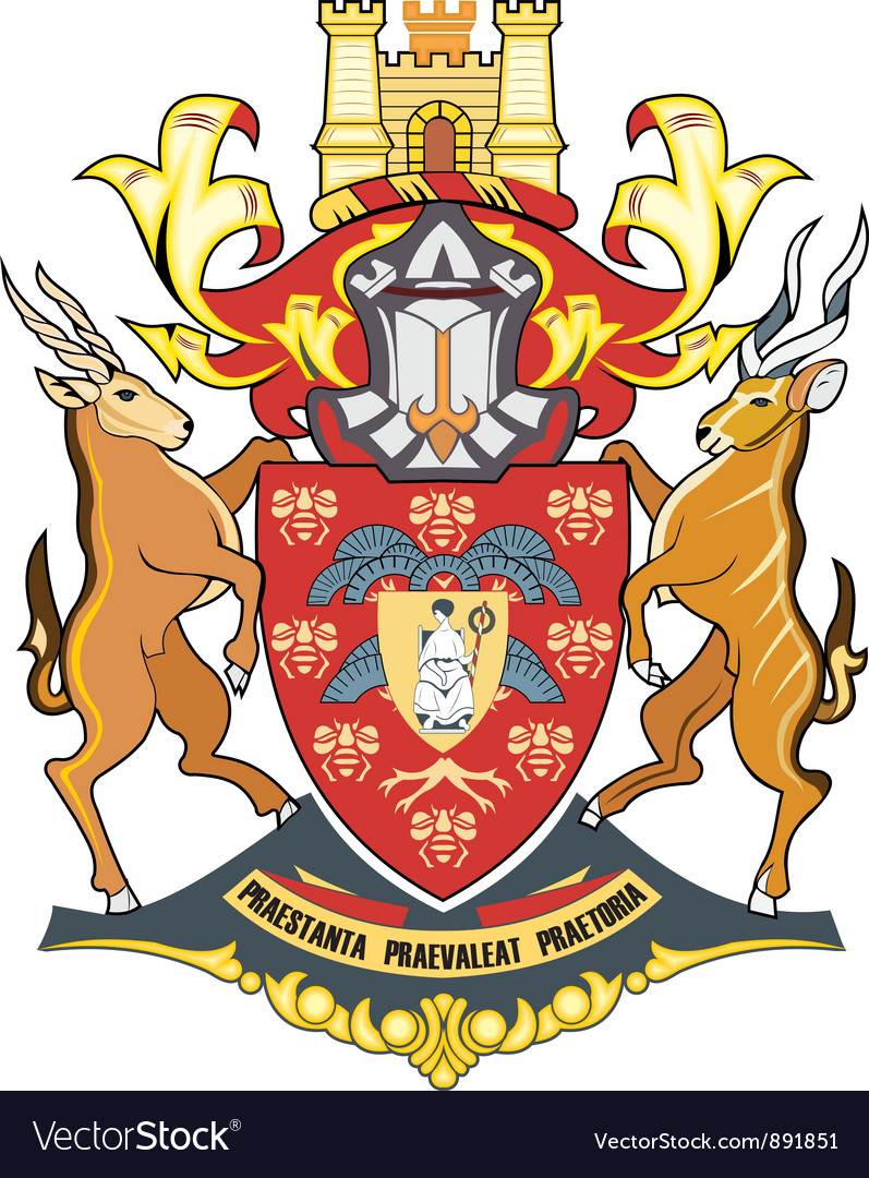 Pretoria seal vector | Price: 1 Credit (USD $1)