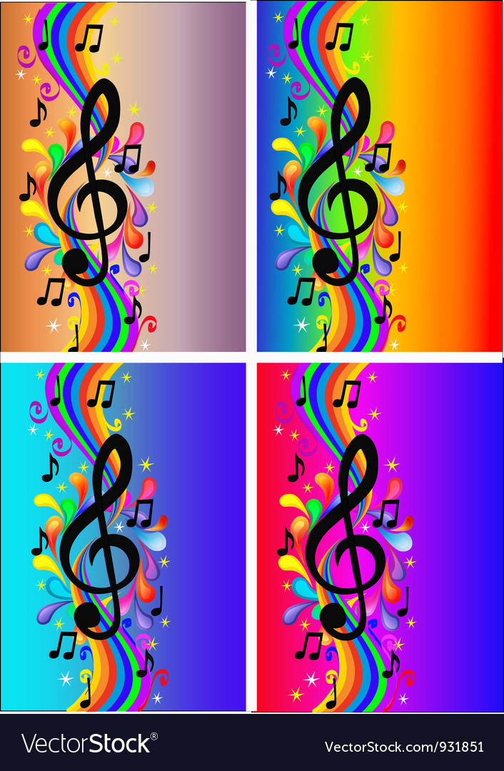 Treble clef background vector | Price: 1 Credit (USD $1)