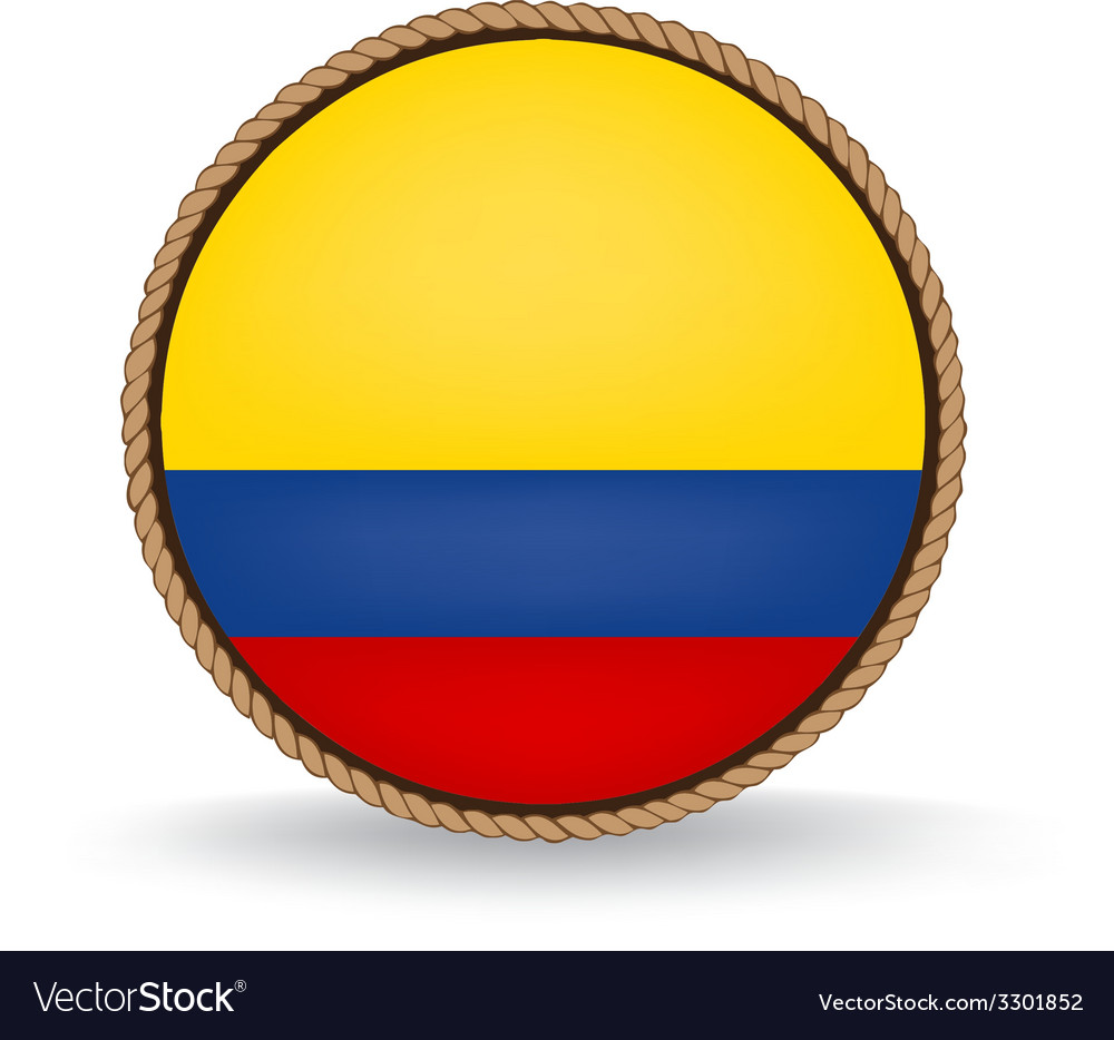 Colombia seal vector | Price: 1 Credit (USD $1)