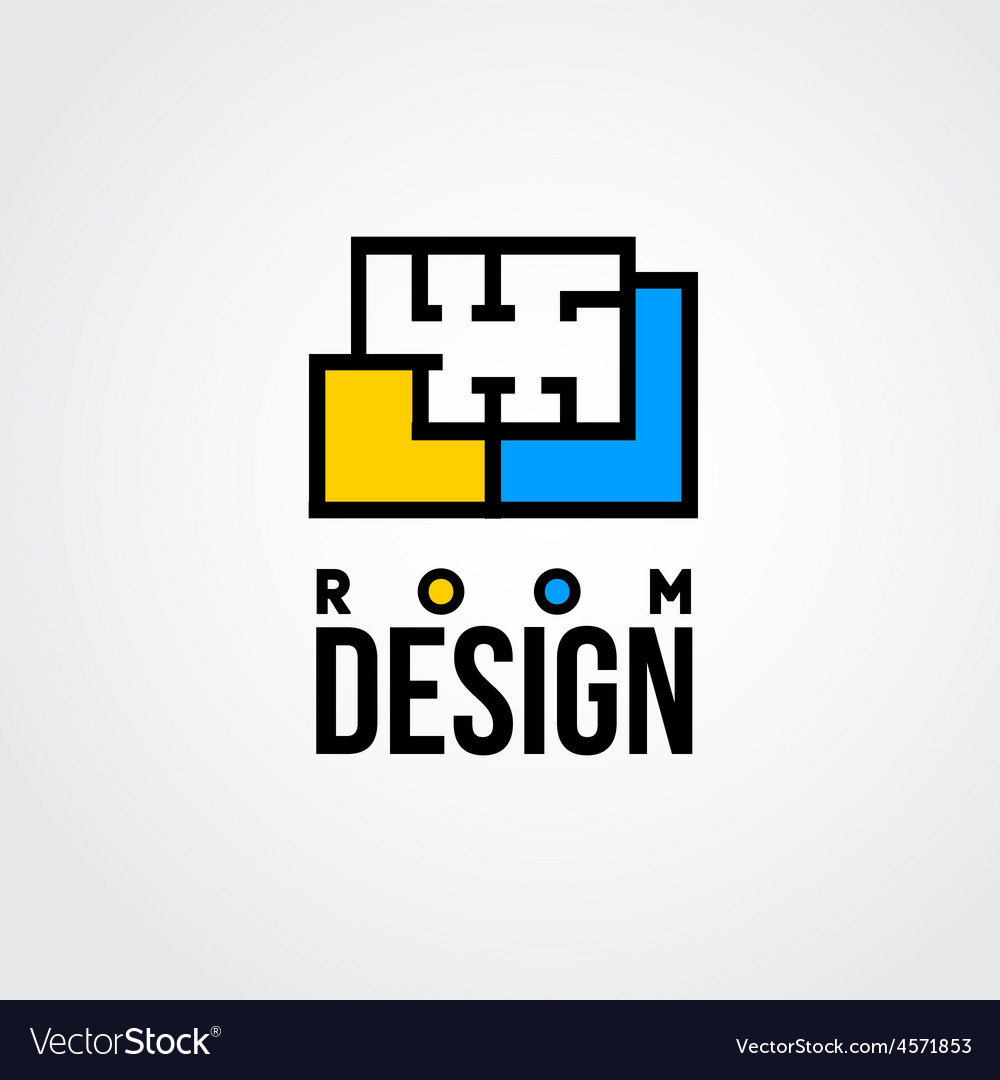Design room logo vector | Price: 1 Credit (USD $1)