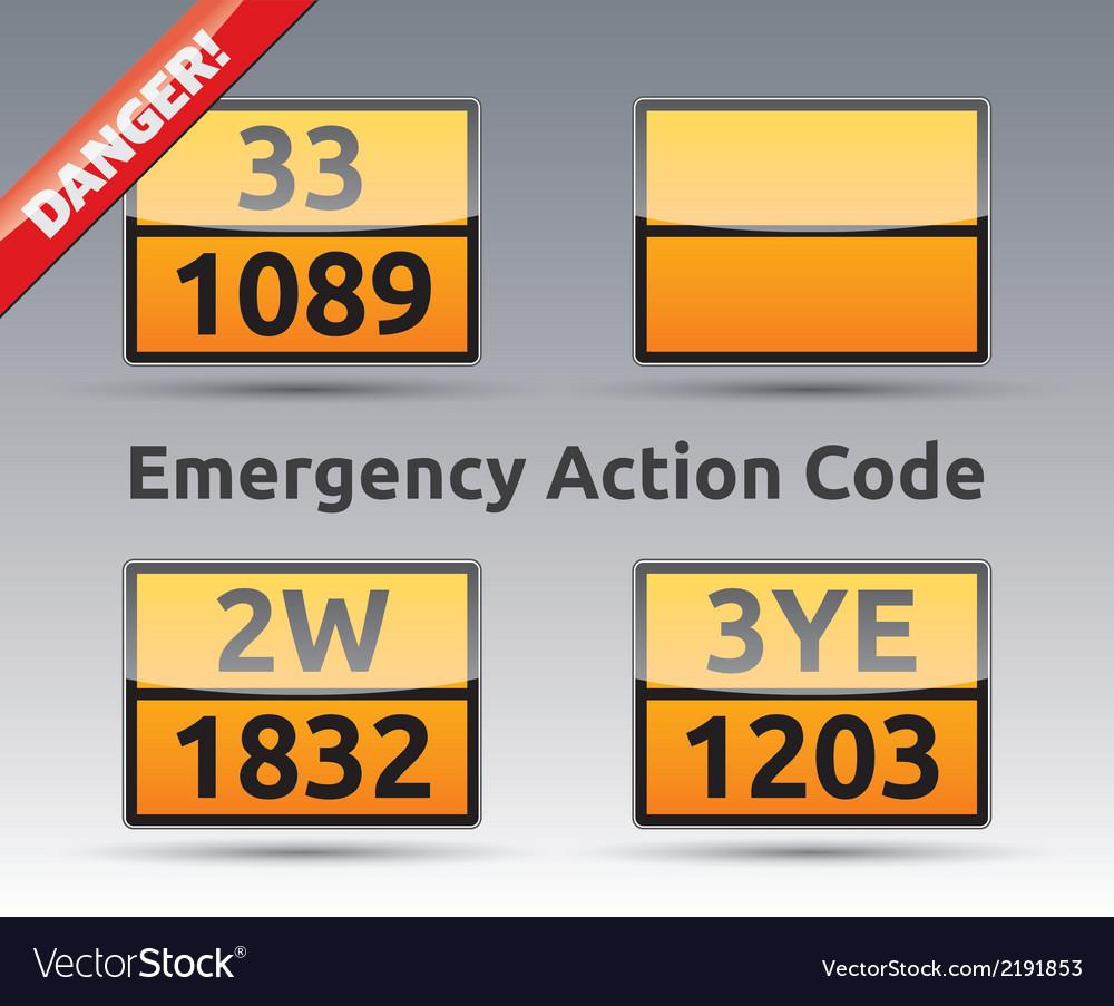 Emergency action code adr vector | Price: 1 Credit (USD $1)