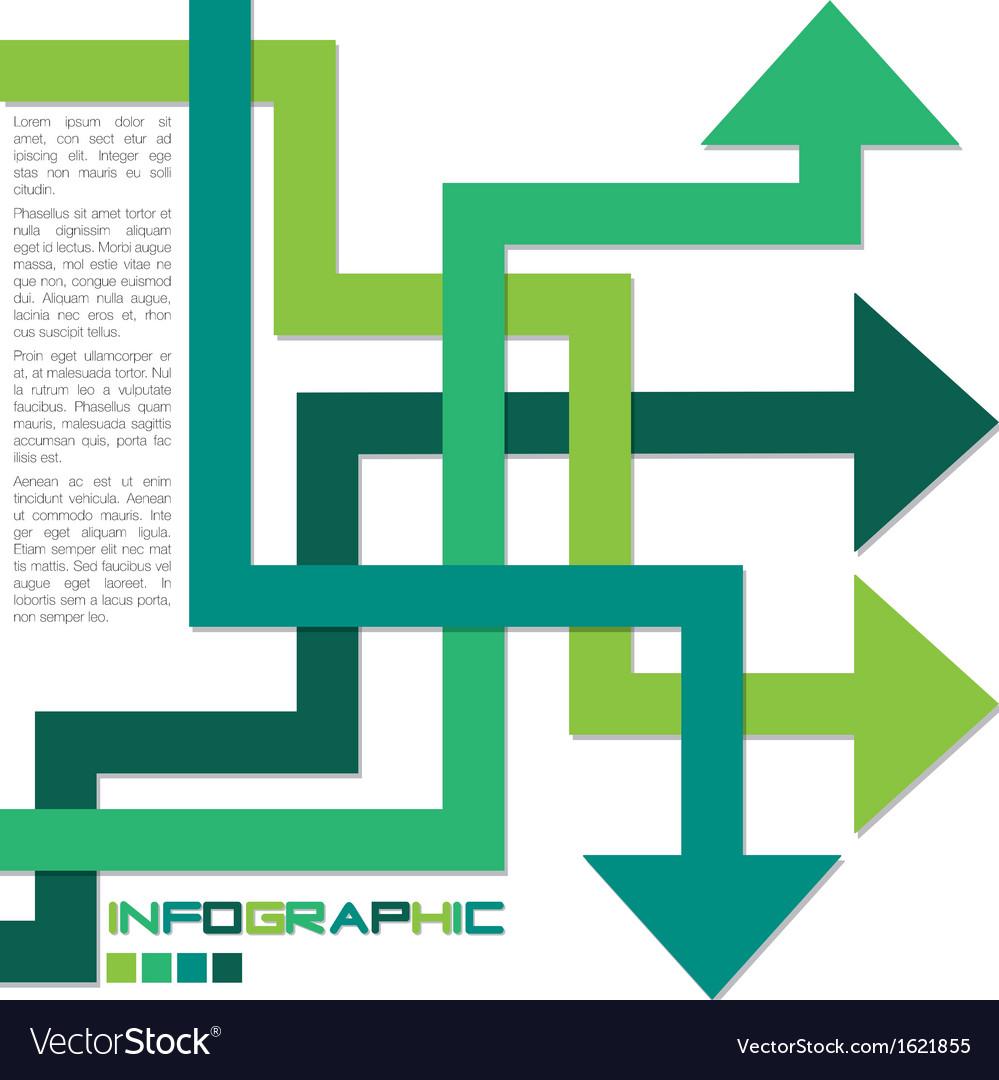 Arrow infographics vector   Price: 1 Credit (USD $1)