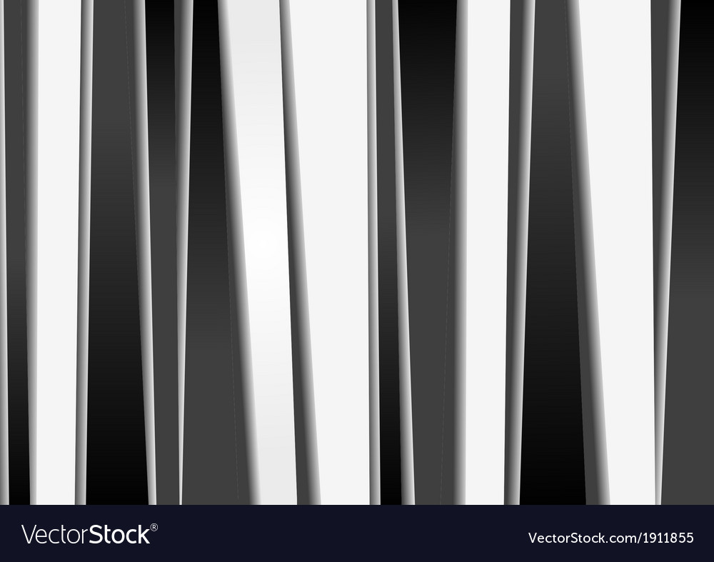 Black and white stripes backdrop vector | Price: 1 Credit (USD $1)