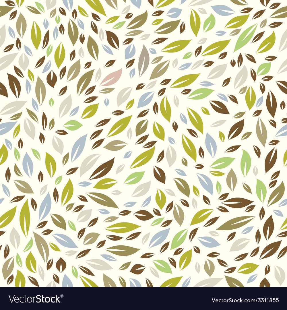 Color leaf pattern vector | Price: 1 Credit (USD $1)