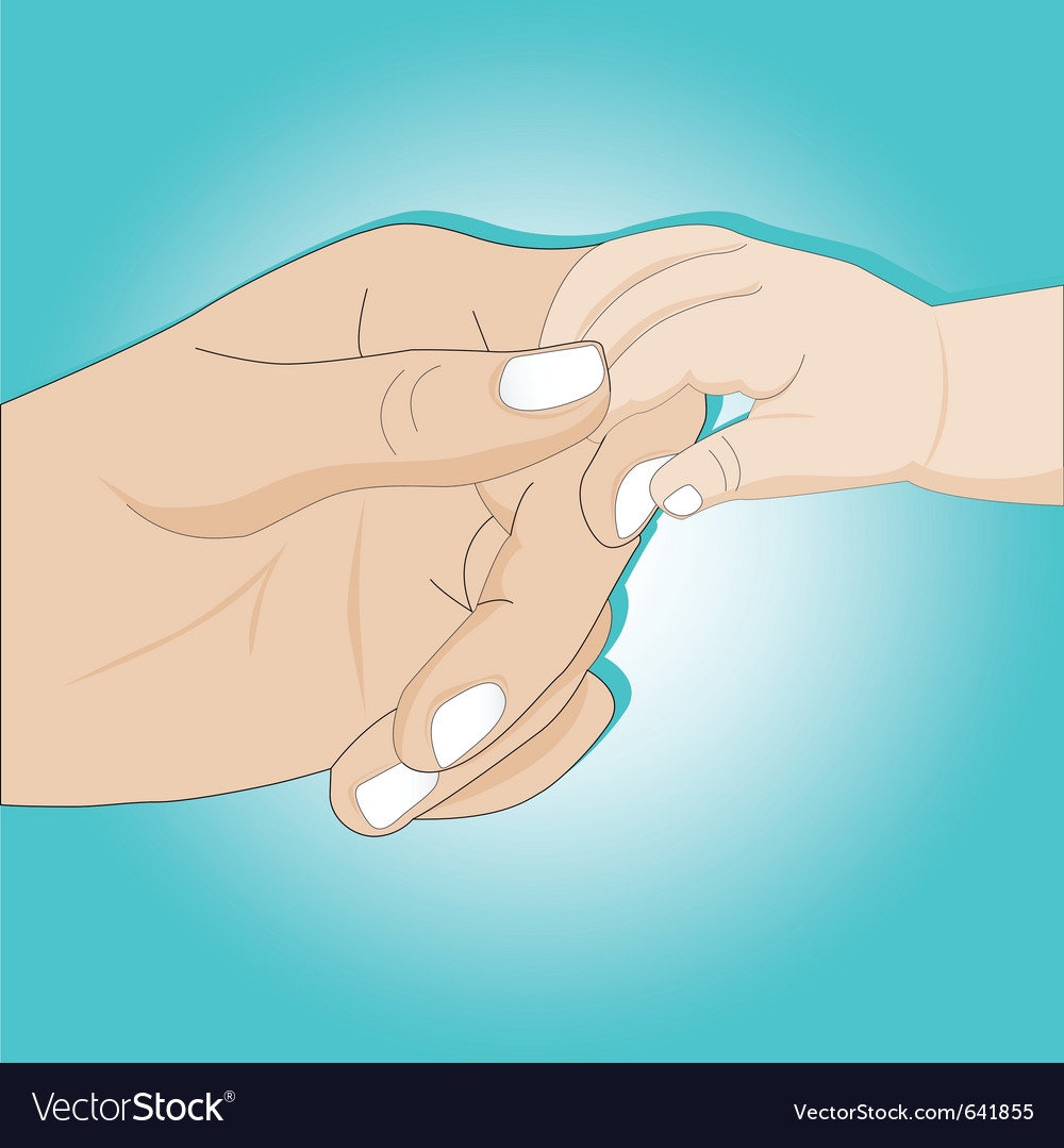 Gentle hands vector | Price: 3 Credit (USD $3)