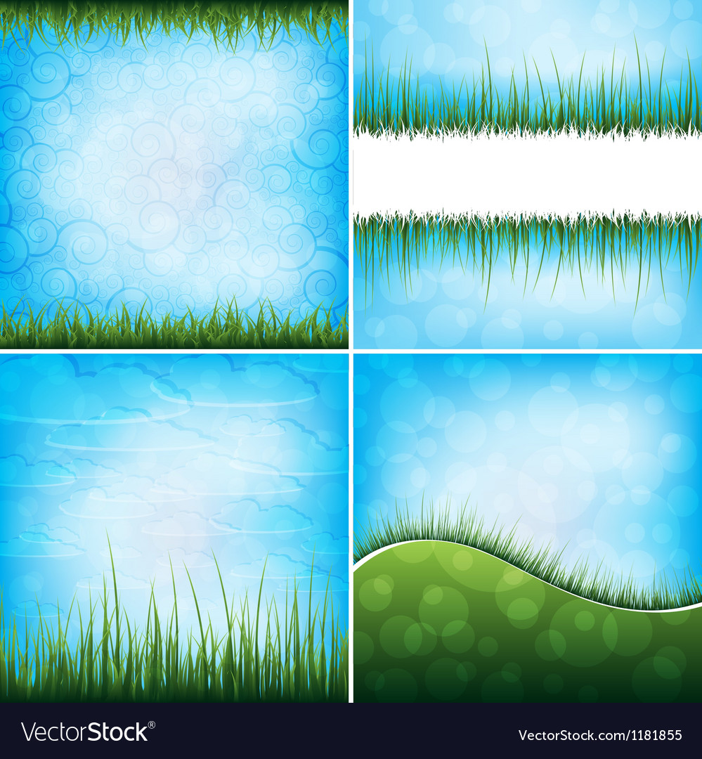 Grass backgrounds vector | Price: 1 Credit (USD $1)