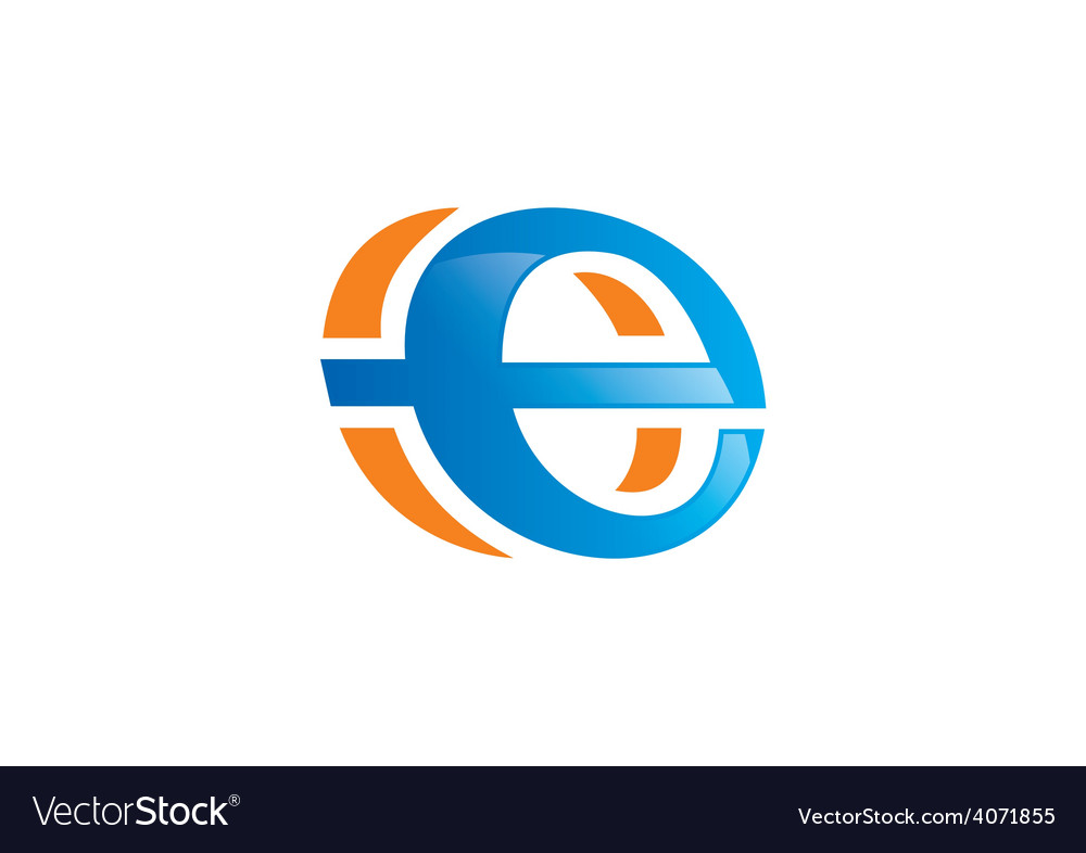 Internet symbol explore logo vector | Price: 1 Credit (USD $1)