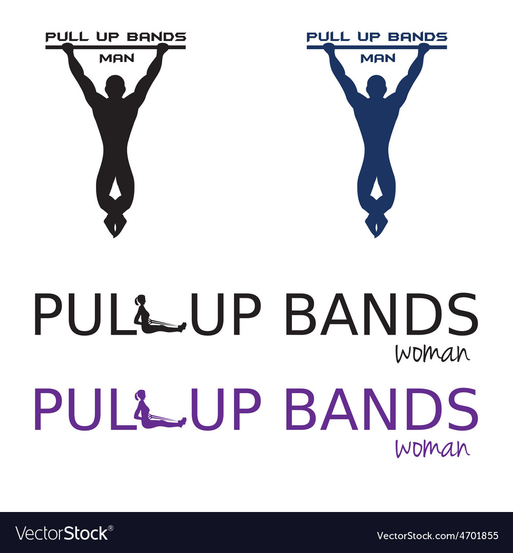 Pull up bands vector | Price: 1 Credit (USD $1)
