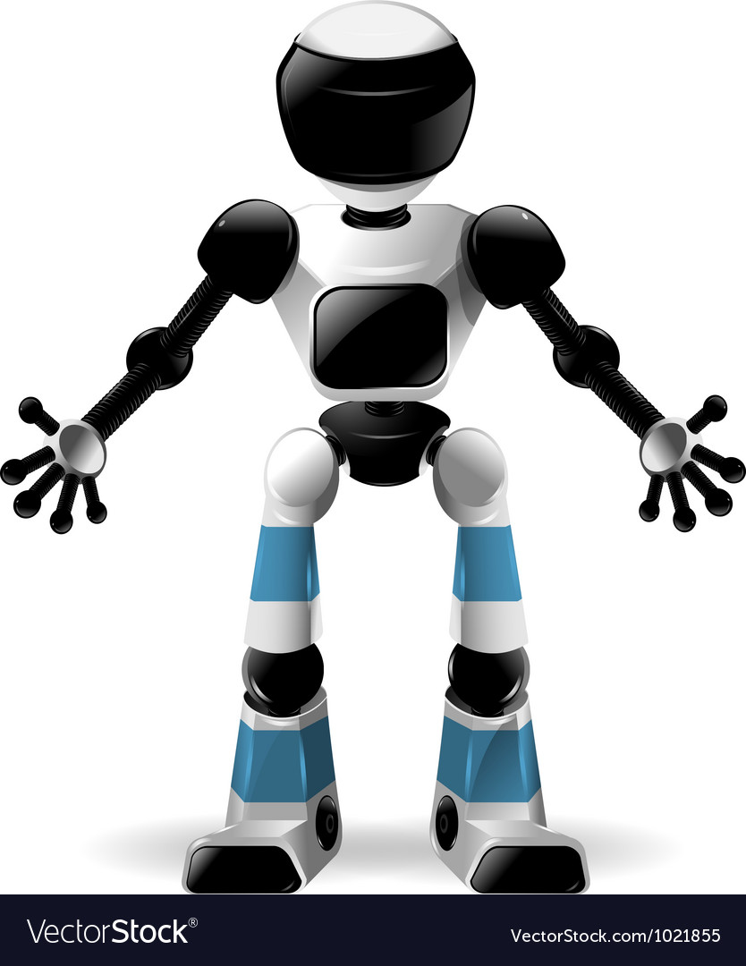 Robot vector | Price: 3 Credit (USD $3)