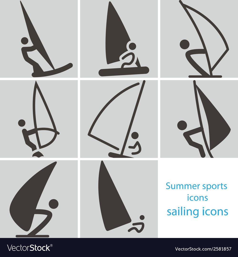 2267 sailing icons vector | Price: 1 Credit (USD $1)
