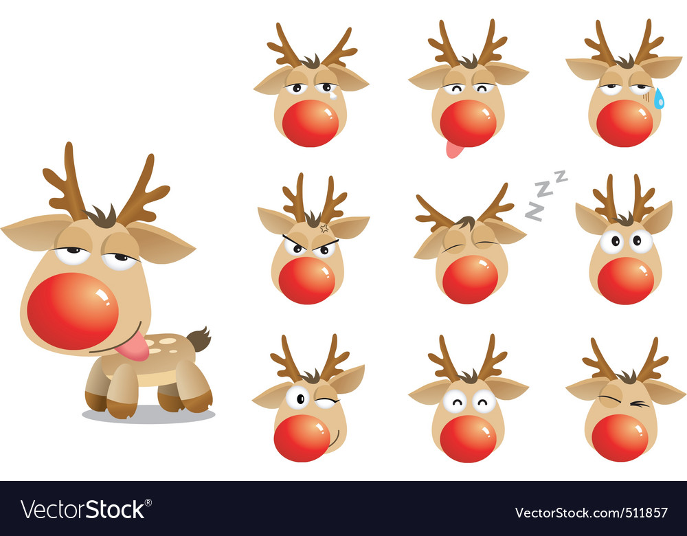 Christmas xmas elk vector | Price: 3 Credit (USD $3)