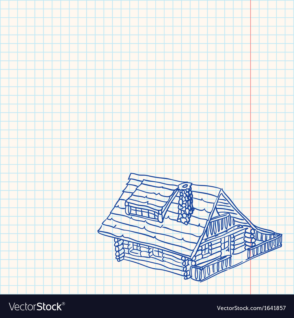 Cottage handmade vector | Price: 1 Credit (USD $1)