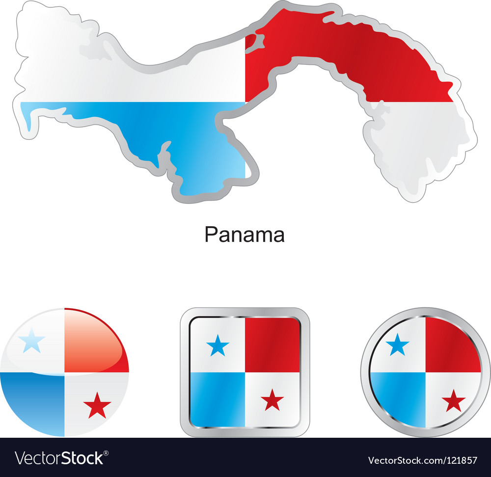 Panama vector | Price: 1 Credit (USD $1)