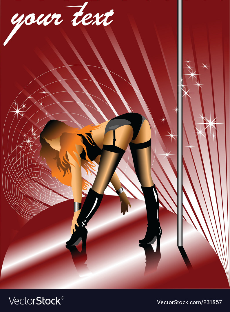 Striptease vector | Price: 1 Credit (USD $1)