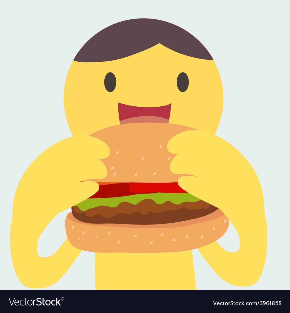 Burgerman vector | Price: 1 Credit (USD $1)