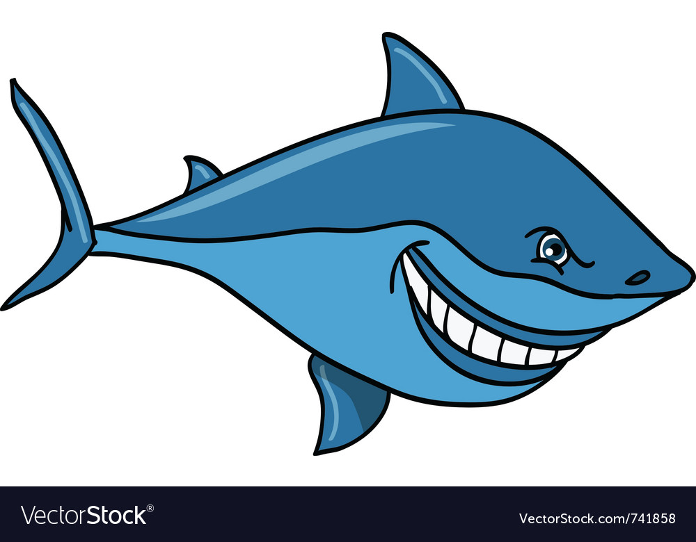 Great white shark vector | Price: 3 Credit (USD $3)