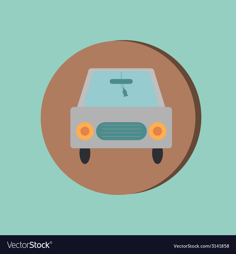 Icon car vehicles icon of transport vector | Price: 1 Credit (USD $1)