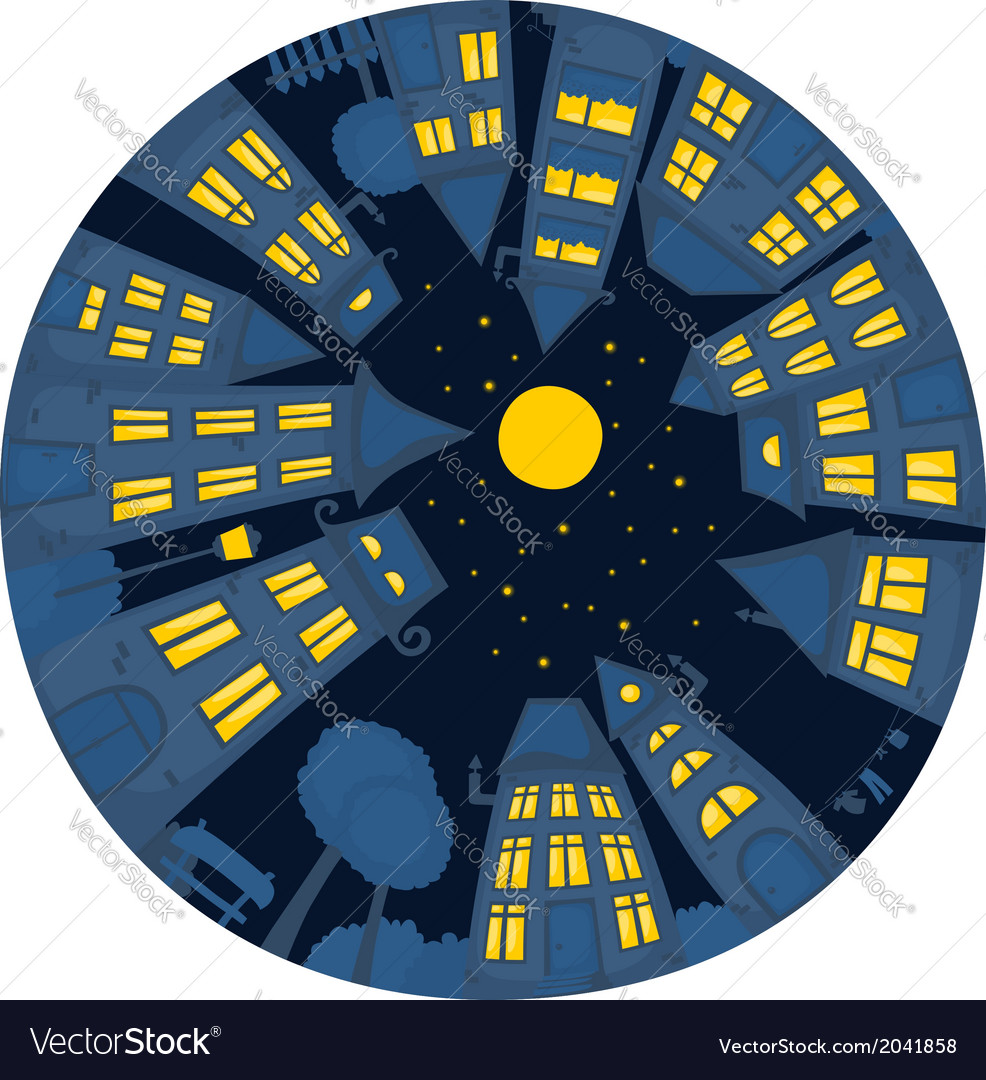Round street night vector   Price: 1 Credit (USD $1)
