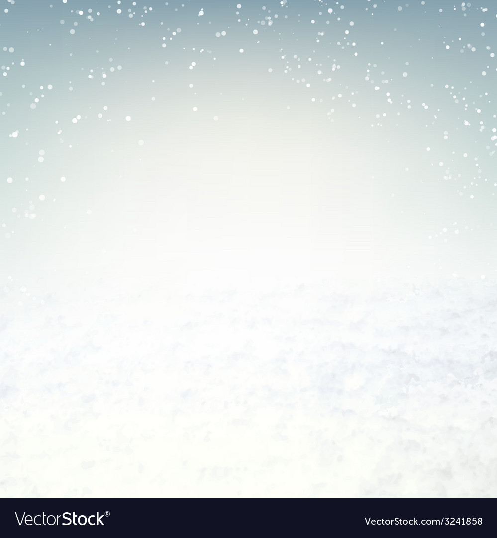 Snow environment vector | Price: 1 Credit (USD $1)