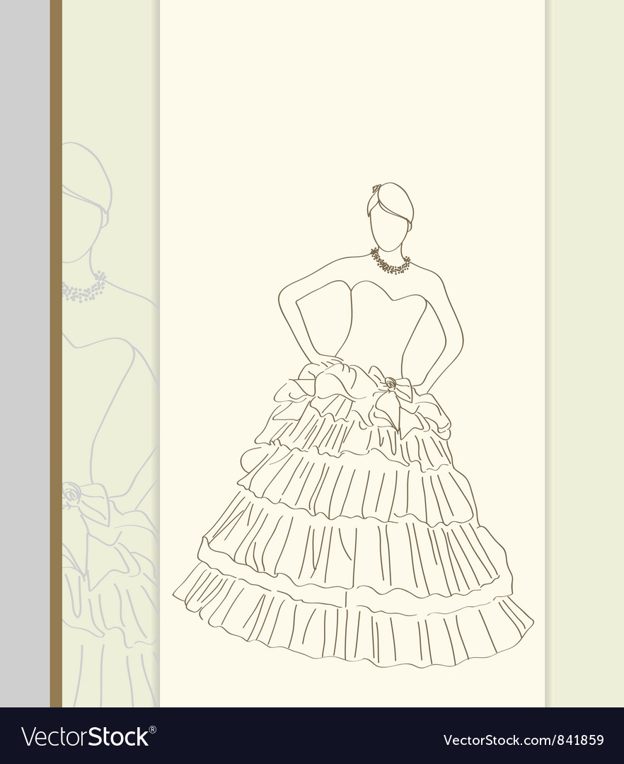 Fashion pose vector | Price: 1 Credit (USD $1)