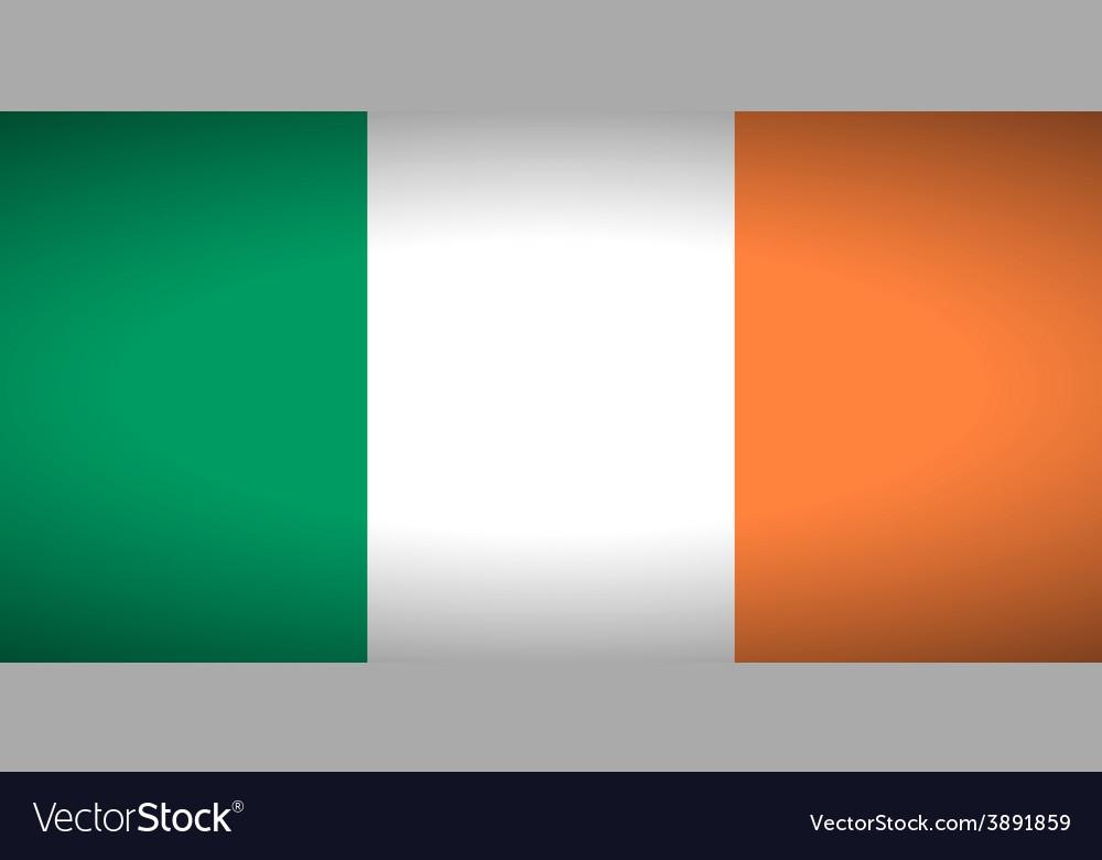 Flag of ireland vector | Price: 1 Credit (USD $1)