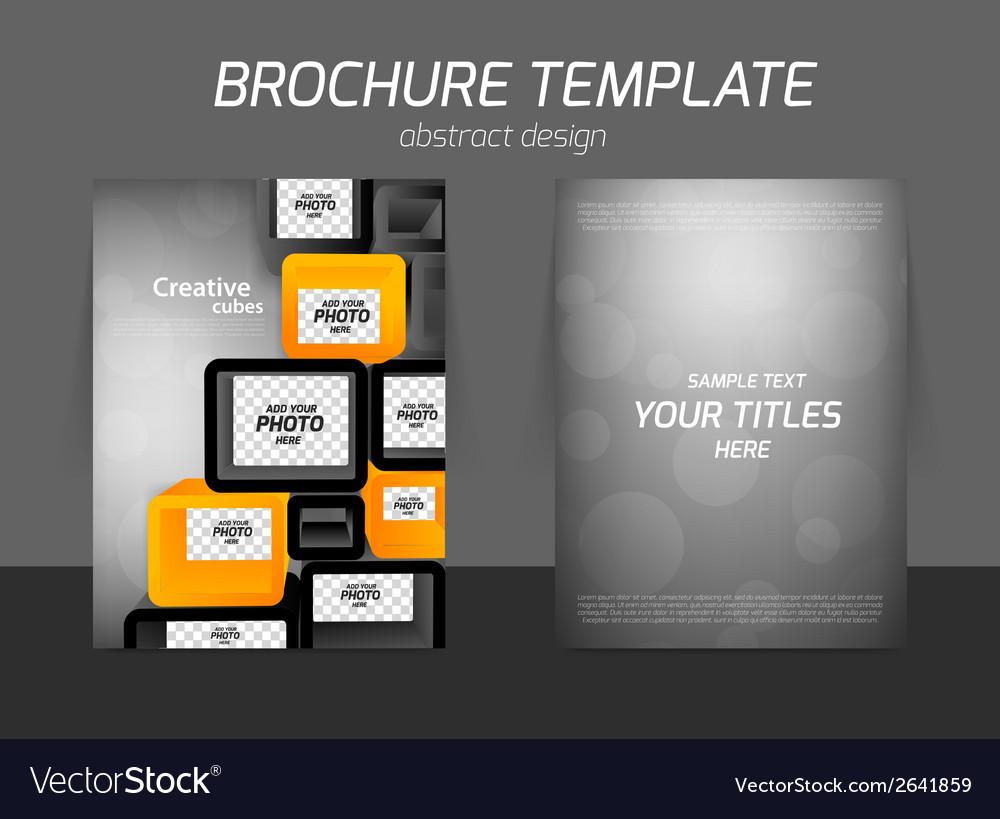 Flyer business design vector | Price: 1 Credit (USD $1)