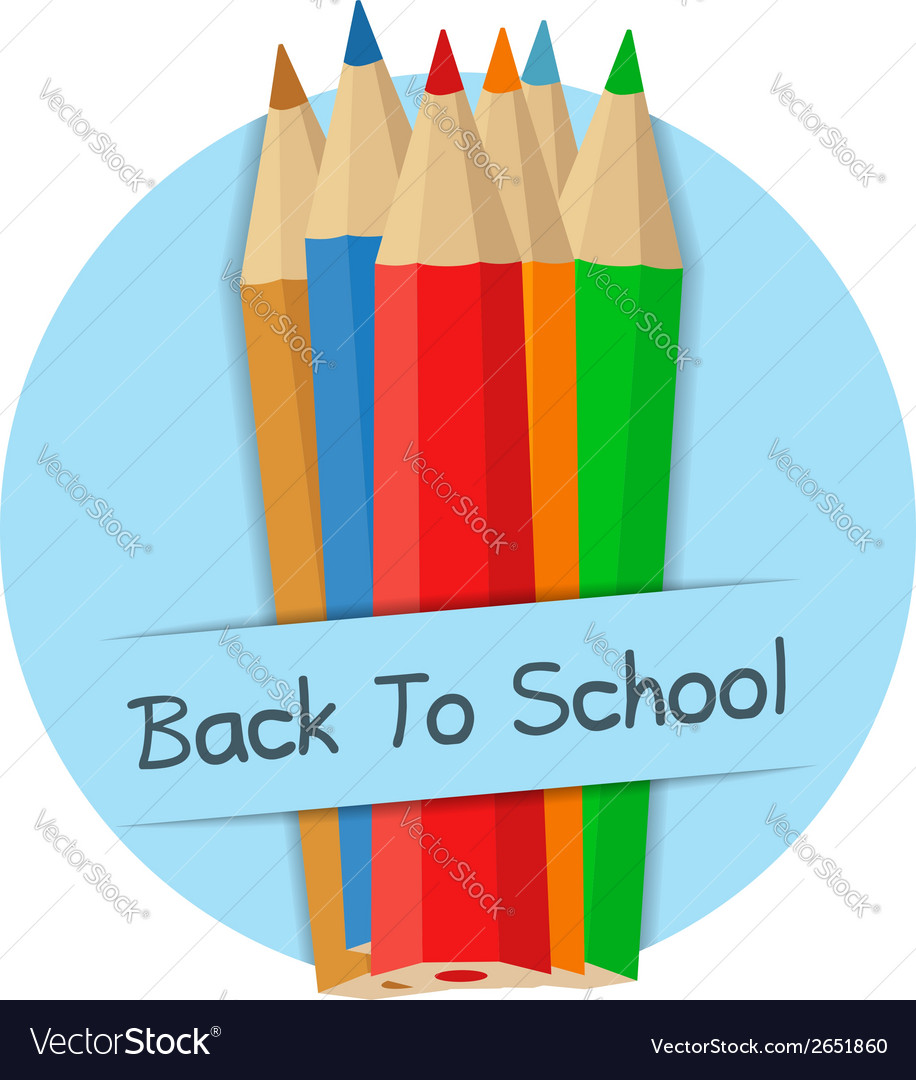 Back to school banner vector | Price: 1 Credit (USD $1)