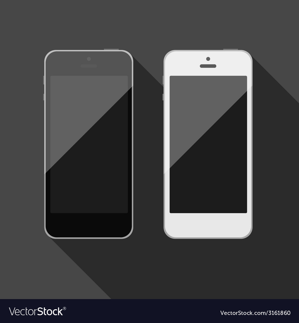 Isolated touch screen smartphone vector | Price: 1 Credit (USD $1)