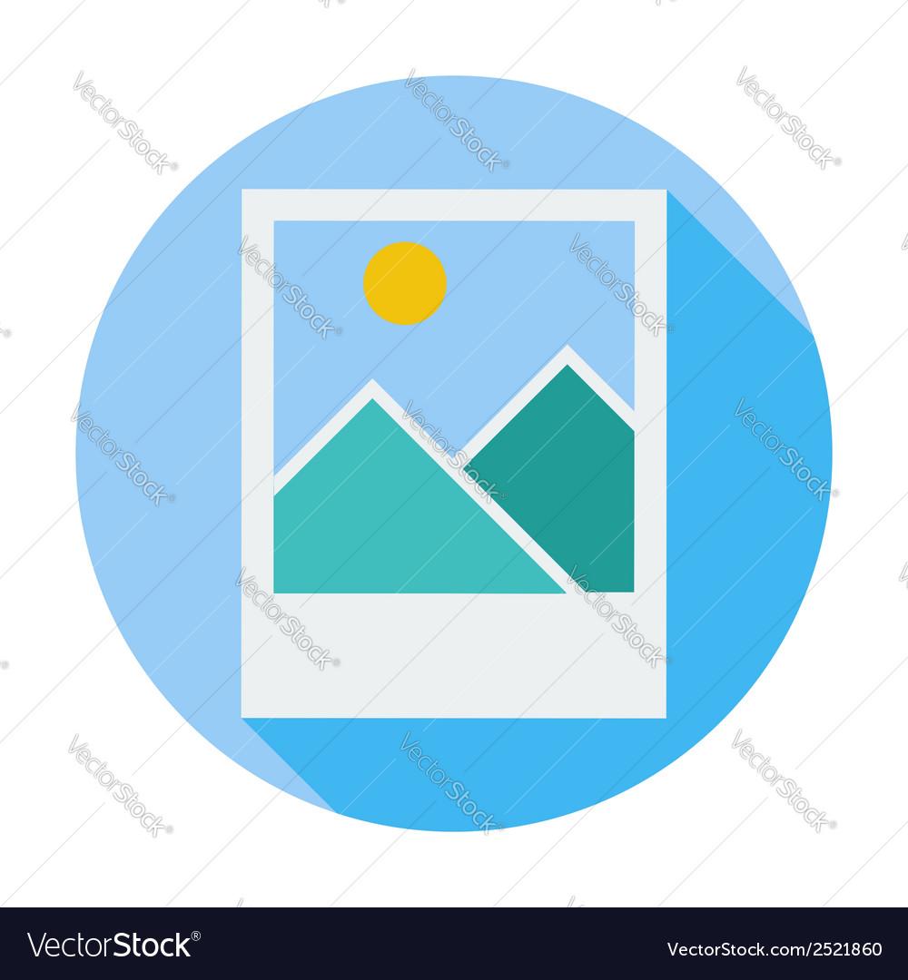 Photo single icon vector | Price: 1 Credit (USD $1)