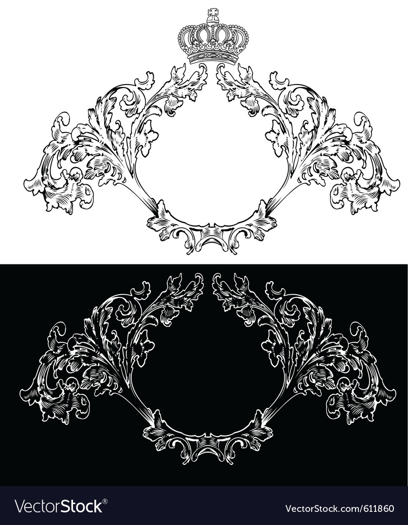 Royal frames vector | Price: 1 Credit (USD $1)