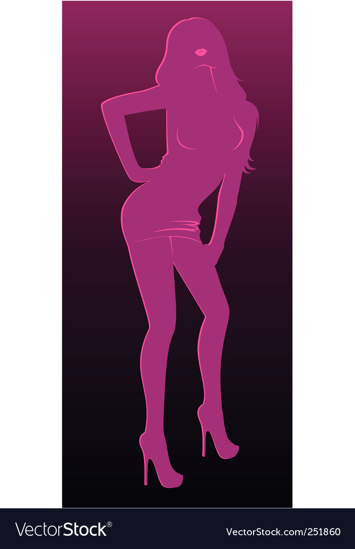 Sexy woman vector | Price: 1 Credit (USD $1)