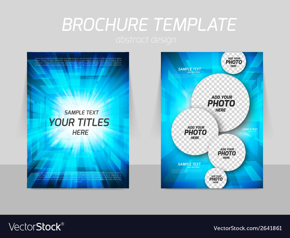 Bright flyer design vector | Price: 1 Credit (USD $1)