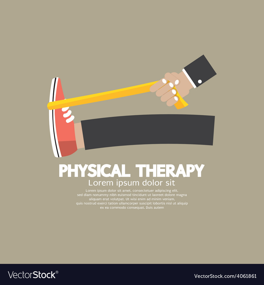 Physical therapy vector | Price: 1 Credit (USD $1)