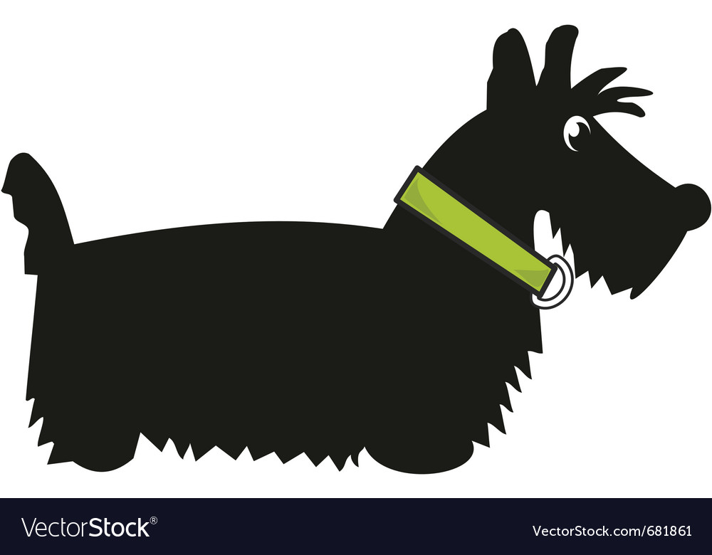 Puppy scotch terrier vector | Price: 1 Credit (USD $1)