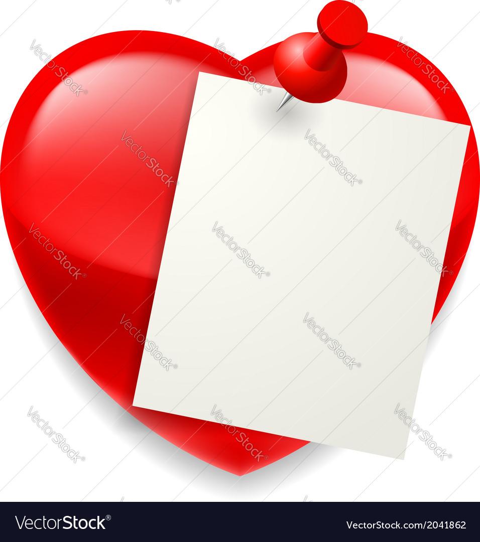 Love message vector | Price: 1 Credit (USD $1)